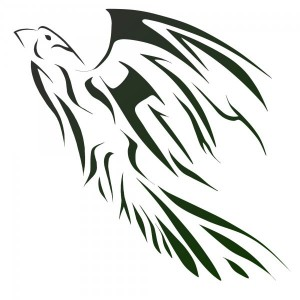 Hawk Tribal Tattoo