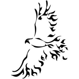 Hawk Tribal Tattoos