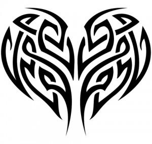 Heart Tattoo Tribal
