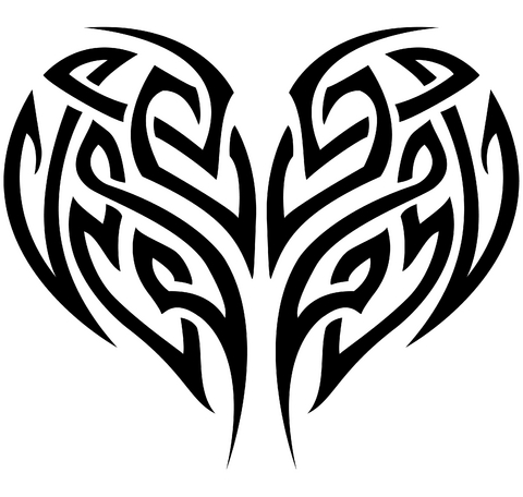 beautiful tribal heart tattoos as well good vibes quotes moreover Svetlana Maslova furthermore deep quotes also firecracker. on hearts