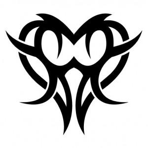 Heart Tribal Tattoos