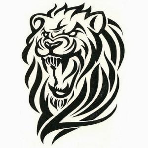 Leo Tribal Tattoos