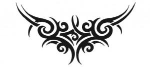 Lower Back Tribal Tattoo Designs