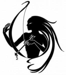 Sagittarius Tribal Arrow Tattoos