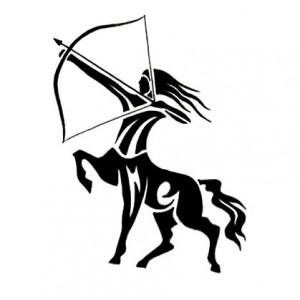 Sagittarius Tribal Tattoos