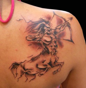 Sagittarius Tribal Tattoos for Men