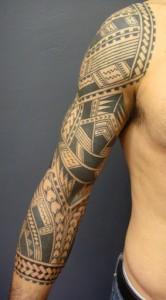 Samoan Tribal Tattoo Sleeves