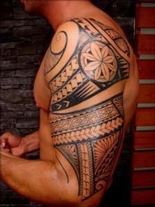 Samoan Tribal Tattoos for Men