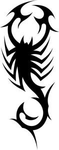 Scorpion Tribal Tattoo