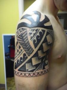 Tattoo Half Sleeve Tribal
