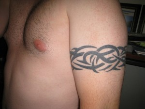 Tribal Band Tattoos for Men