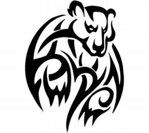 Tribal Bear Tattoos