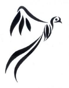 Tribal Bird Tattoo Images