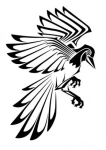Tribal Bird Tattoo Pictures