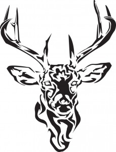 Tribal Deer Tattoos