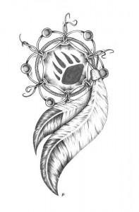 Tribal Dreamcatcher Tattoo