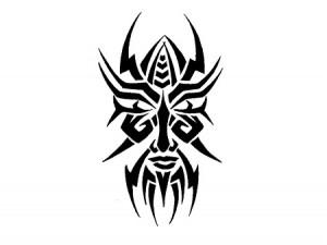 Tribal Face Tattoo Designs