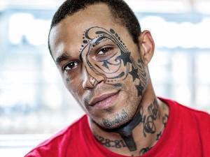 Tribal Face Tattoos for Men