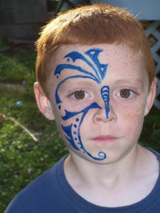 Tribal Faces Tattoo