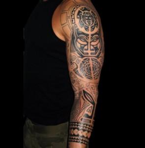 Tribal Full Sleeve Tattoo Designs