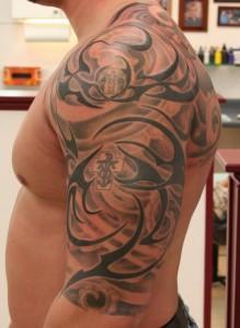 Tribal Half Sleeve Tattoos