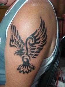 Tribal Hawk Tattoo Pictures