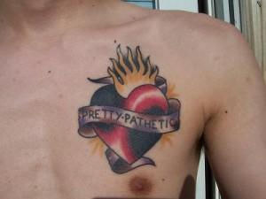 Tribal Heart Tattoos for Men