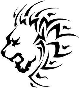 Tribal Leo Tattoos