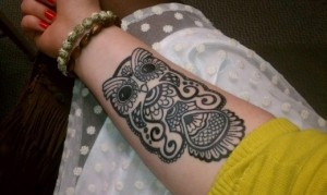 Tribal Owl Tattoo Pictures