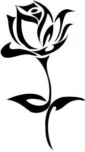 Tribal Rose Tattoo