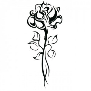 Tribal Rose Tattoo Images