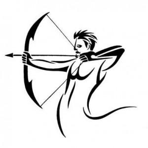 Tribal Sagittarius Tattoo Designs