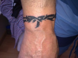 Tribal Tattoo on Wrist