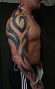 Tribal Tattoos Full Sleeve
