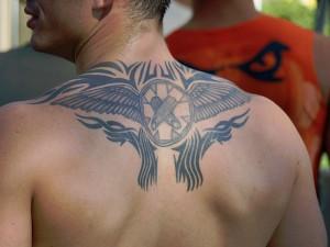 Tribal Tattoos Wings
