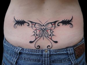 Tribal Tattoos for Lower Back