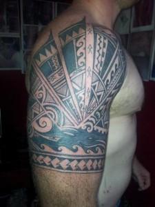 Tribal Tattoos for Men Half Sleeve