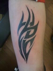 Tribal Tattoos on Forearm