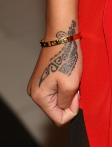 Tribal Tattoos on Wrist