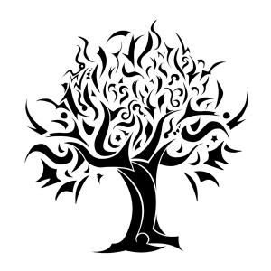 Tribal Tree Tattoos