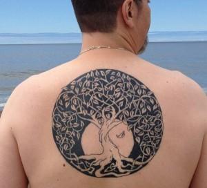 Tribal Tree of Life Tattoo