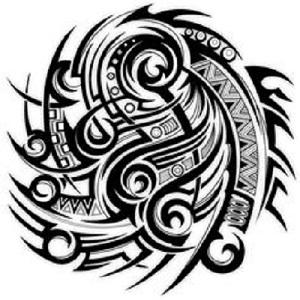 Tribal Warrior Tattoo Designs