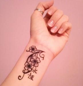 Tribal Wrist Tattoos for Girls