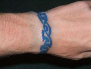 Wrist Tattoo Tribal