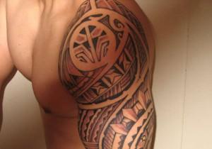 Filipino Tribal Tattoo Designs for Men
