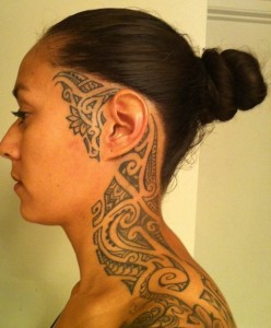 Filipino Tribal Tattoo Female