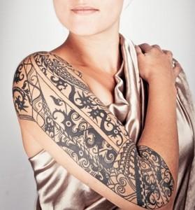 Tribal Sleeve Tattoos for Women