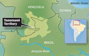 Yanomami Tribe Location