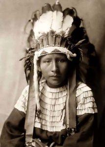 Cheyenne Indians Child