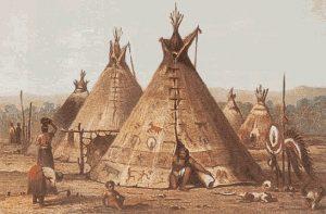 Cheyenne Indians Home